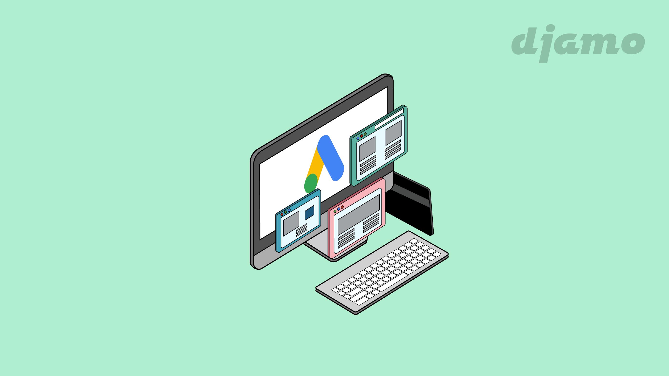 Faire de la publicité sur Google Ads avec la carte Djamo