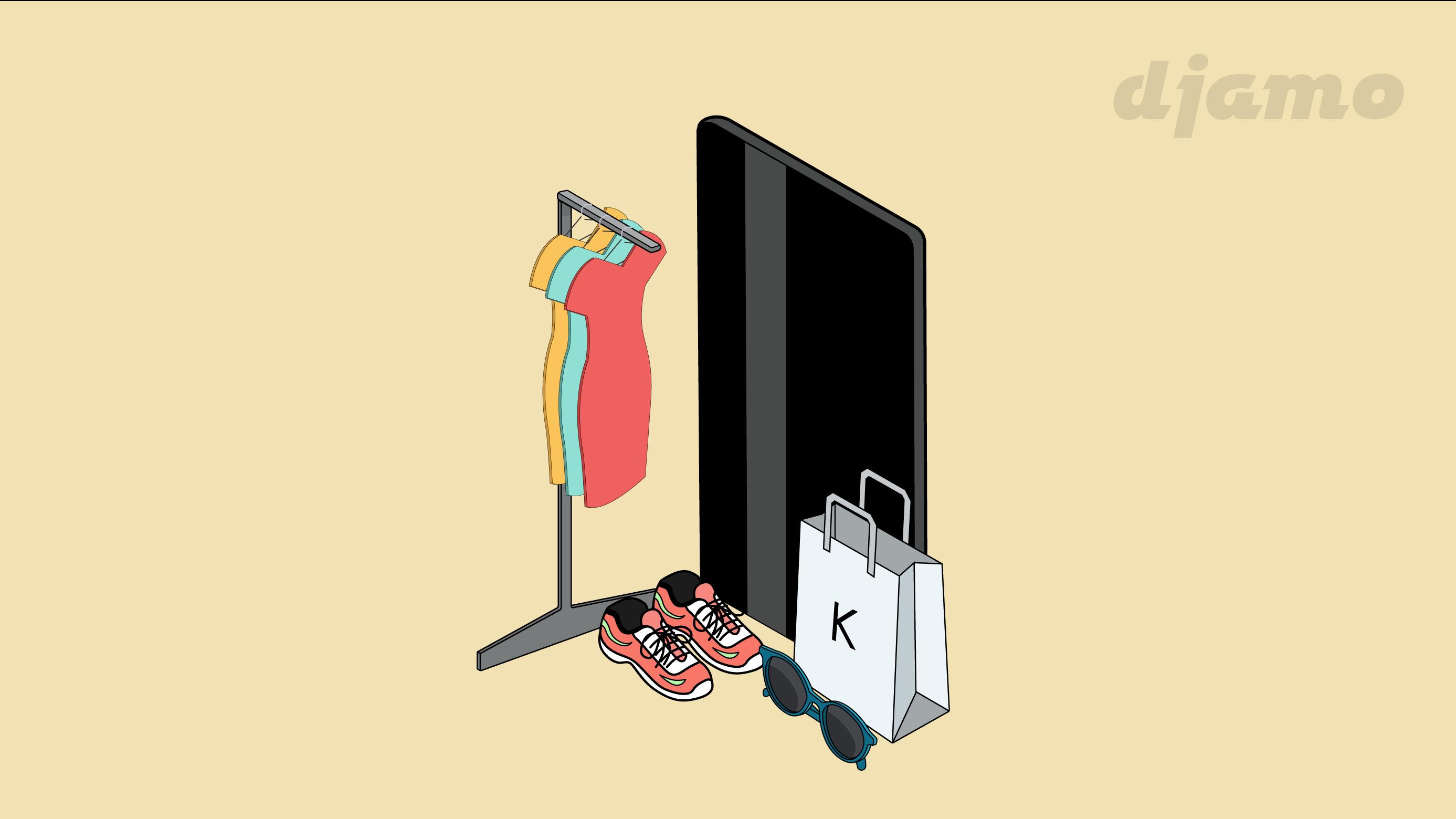 Achetez à petits prix sur Kiabi avec la carte Djamo