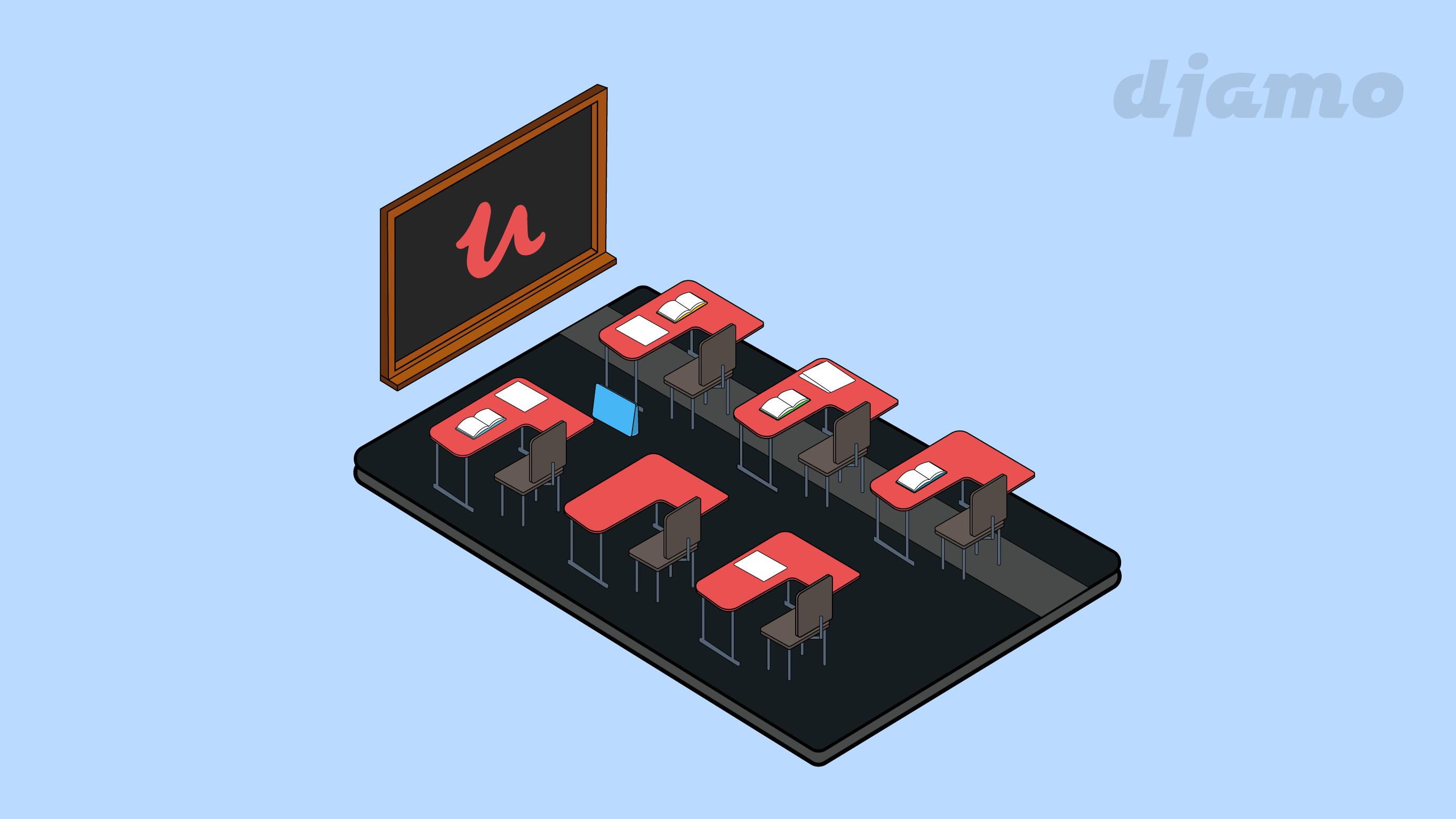 Payez vos cours en ligne sur Udemy avec la carte Djamo 👨🏽🎓