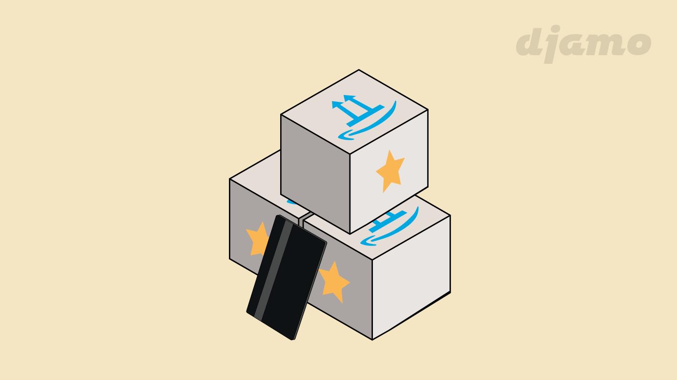 Passez en mode Amazon Prime avec Djamo et bénéficiez de plusieurs avantages